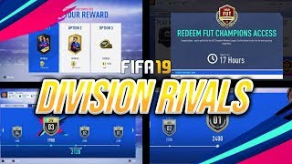 New Update (Again) Division Rivals Live - UCL Marquee Matchups?? - Road To Rank 2