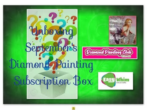 Easy Whim Diamond Painting Subscription Box - September