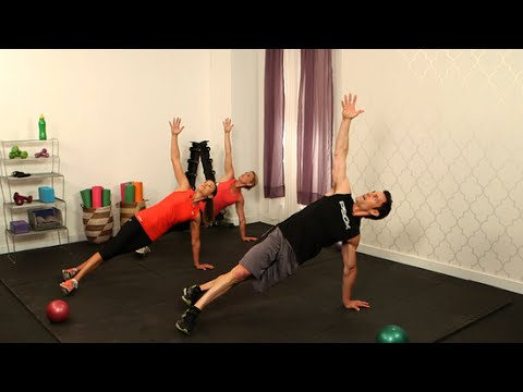 10-Minute Full-Body P90X Workout With Tony Horton   Class FitSugar