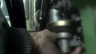 Replacing the lift pump on the John Deere 4230