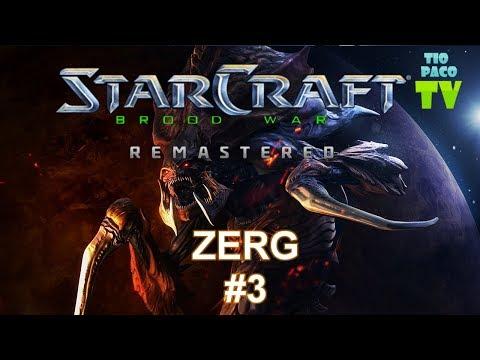 Starcraft Broodwar: Remastered - Campaña Zerg 3 - La asociación Kel-Morian