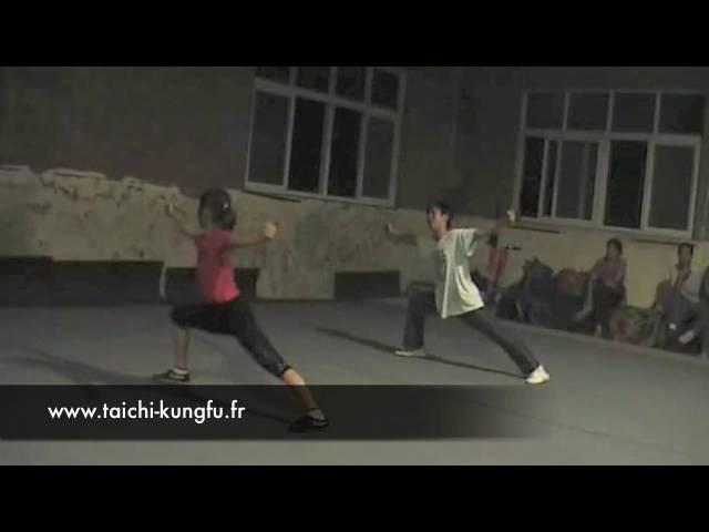Entrainement Kungfu Wushu - Enfants de Luoyang (3)