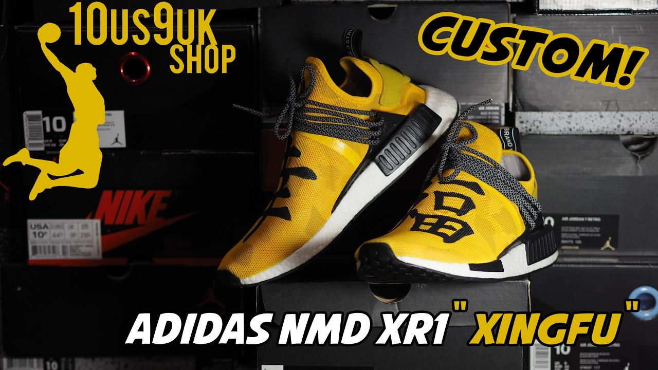 90956c500c841  Custom  adidas NMD Human race