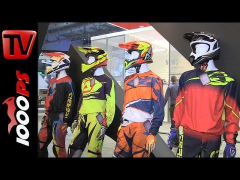 Acerbis Neuheiten 2016 | Motocross Bekleidung, Plastik Kit