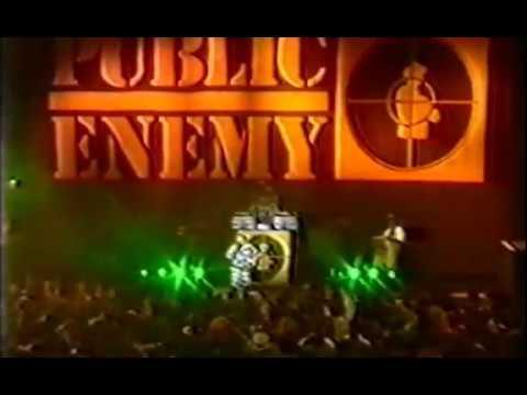 Public Enemy  1987   @ Def Jam Tour London, England Azali5 Man Exclusive