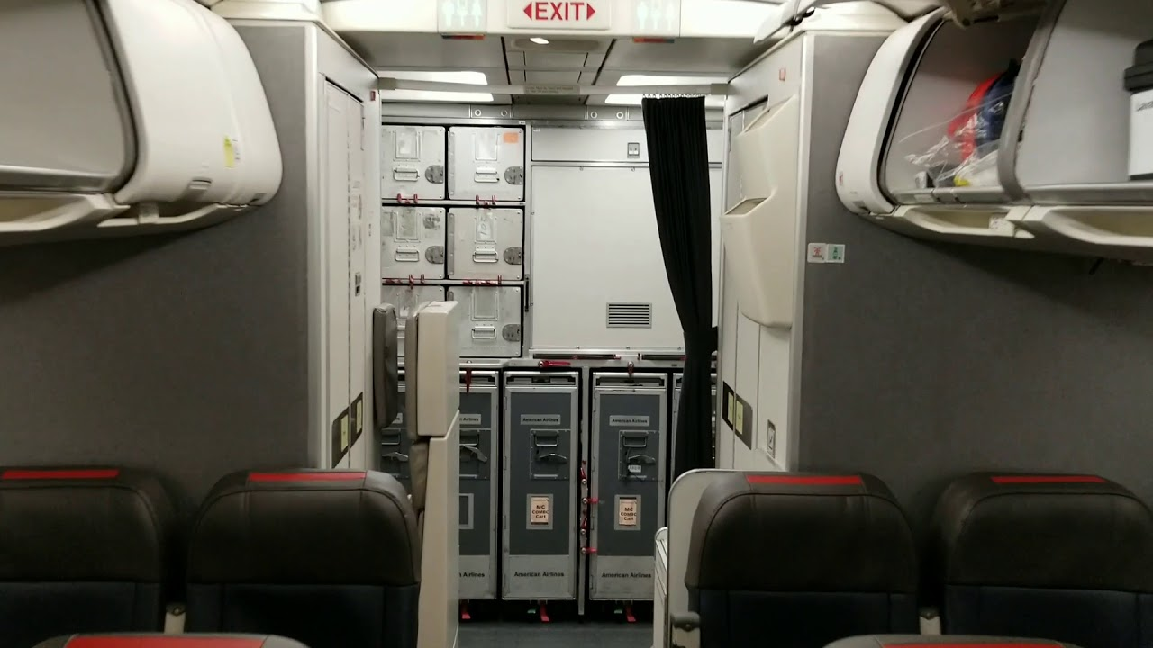 American Airlines Cabin Tour Legacy Us Airways Airbus A320