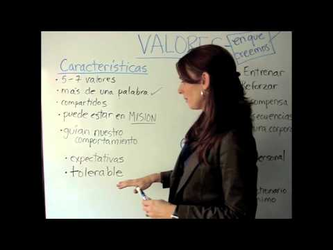 Cómo determino los Valores Empresariales para mi negocio?