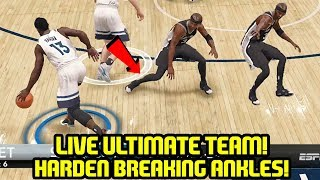 NBA LIVE 18 ULTIMATE TEAM! FIRST GAMES AND PACKS! HARDEN WITH THE SAUCE!