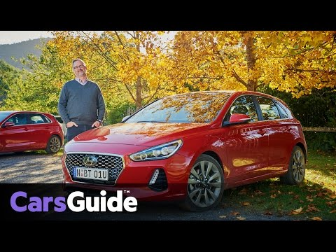 Hyundai i30 2017 review first Australian drive video