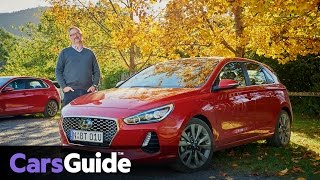 Hyundai i30 2017 review first Australian drive video смотреть