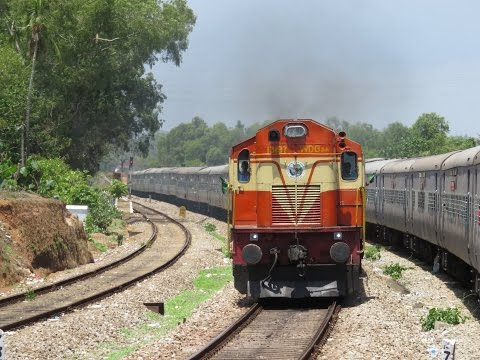 Mumbai Mangalore Konkan Railways Full Journey - Okha Ernakulam Express