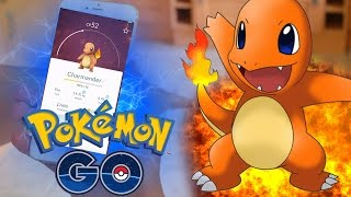 FIRST GYM BATTLES! - Pokemon GO App - POKEMON IN REAL LIFE! (Pokemon Go Gameplay Walkthrough Part 1)