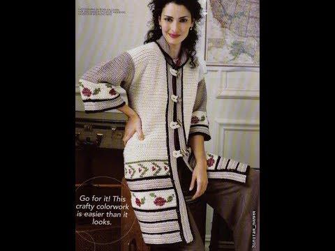 Crochet Patterns For Free Long Crochet Cardigan Pattern 2360