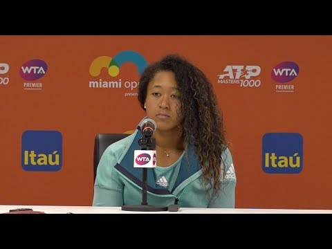 Naomi Osaka Press Conference | 2019 Miami Open Third Round