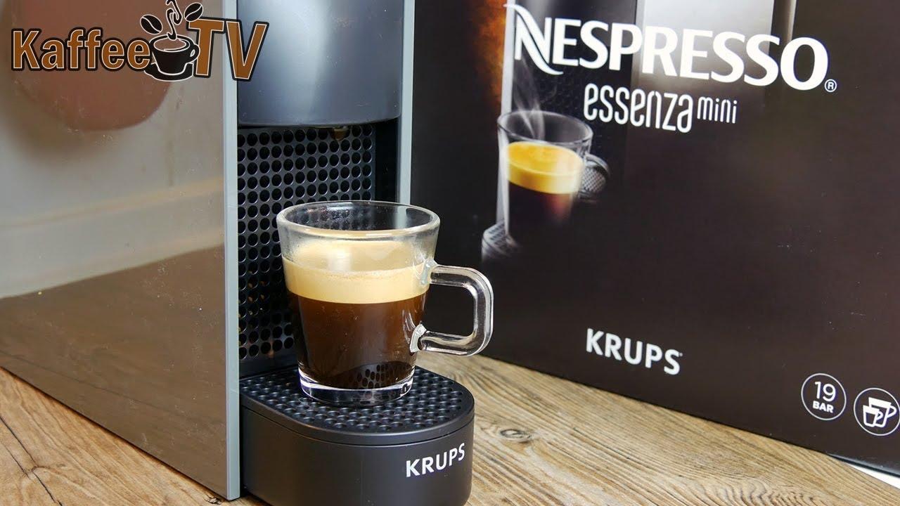 krups nespresso essenza mini im test die kleinste