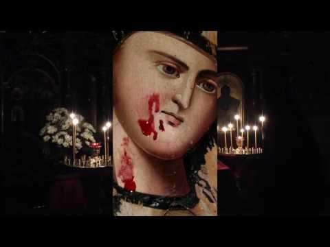 Смоленская кровоточивая икона Богородицы