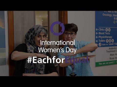 International Women's Day 2020 - #EachforEqual | Cambridge University Hospitals NHS Foundation Trust