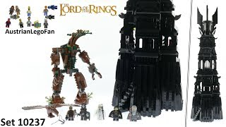 Lego Lord of the Rings 10237 The Tower of Orthanc - Lego Speed Build Review