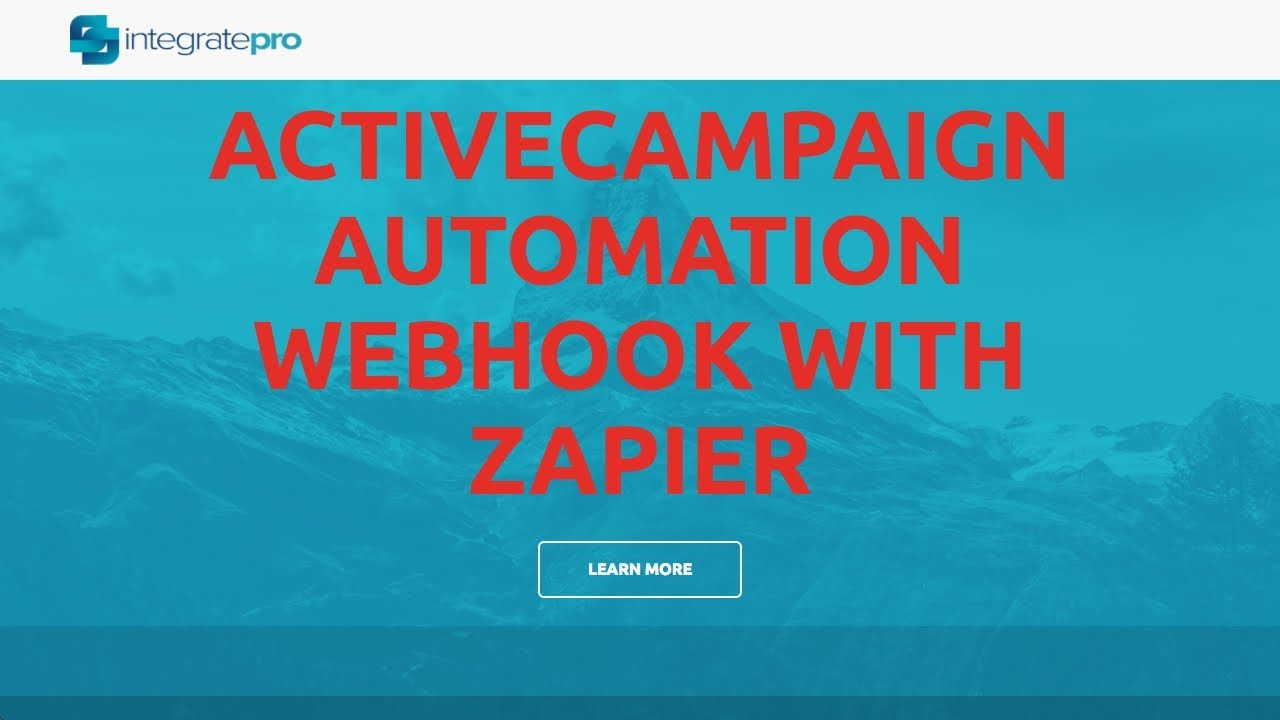 ActiveCampaign Automation Webhook with Zapier