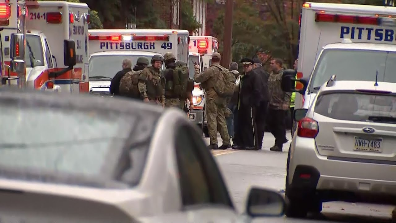 مباشر SPECIAL REPORT: Multiple fatalities after shooting in Pittsburgh synagogue, shooter in custody