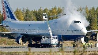 Что только не увидишь в Аэропортах: De-icing Трансаэро, Селфимания, Хвост Ту-154 + Бонусы на закусь)