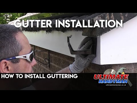 how-to-install-guttering