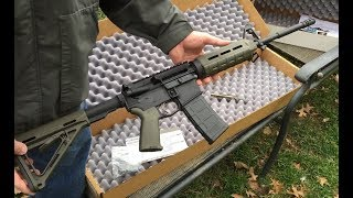 PSA M4 OD Green Magpul Rifle, Budget AR15, $429 Delivered! Review from opening the box.