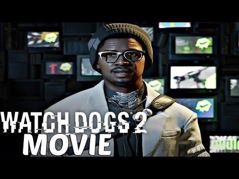 Watch Dogs 2 - All Cutscenes / Full Movie