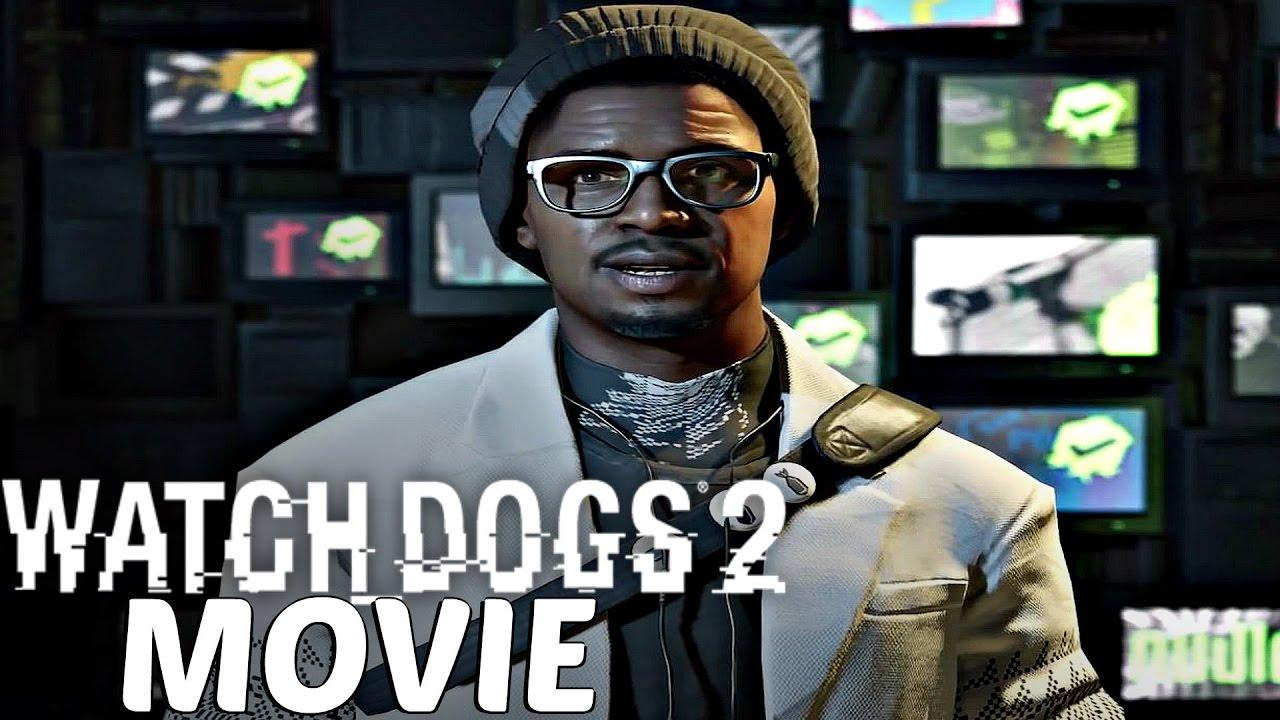 watch dogs 2 - all cutscenes / full movie - youtube