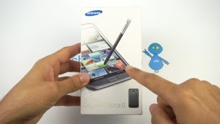 Galaxy Note 2 Unboxing - فتح صندوق جالكسي نوت ٢
