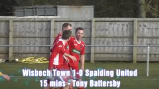 Wisbech Town v Spalding United - UCL - 08/02/14