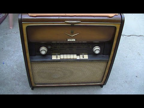 Grundig Majestic 7005 Vintage Radio Diagnosis Repair