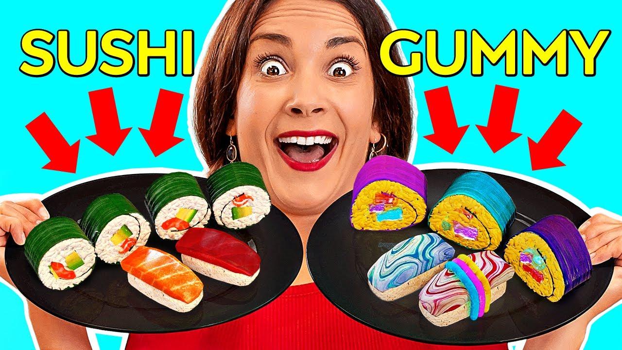 real food vs gummy