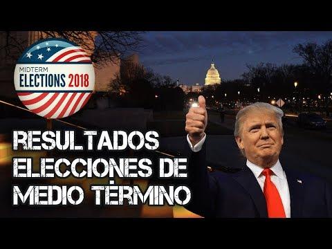 Resultados Elecciones de Medio Término USA