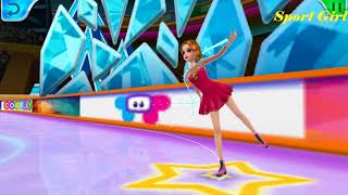 Ice skating Ballerina | Show off your fabulous figure skating moves