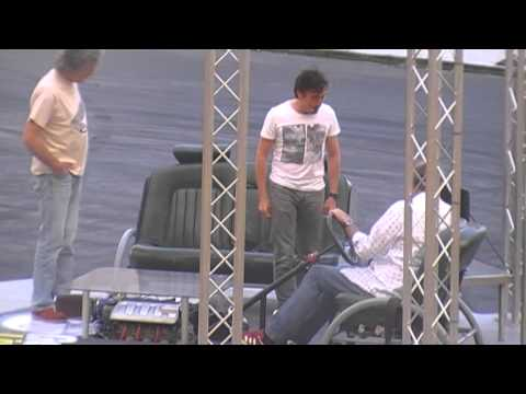 Top Gear Festival Durban 2013- Jeremy drives a V8 powered stage