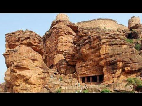 Badami Cave Temple Sculpture