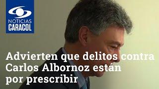 Desfalco en la DNE: advierten que delitos contra Carlos Albornoz están por prescribir