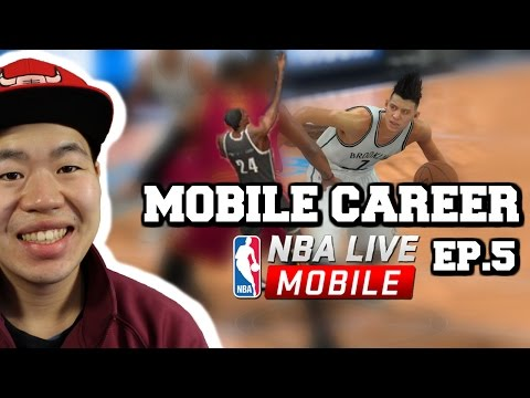 Mobile Career Episode 5 - First Elite Player - Nba Live Mobile