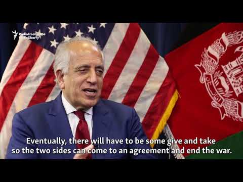 U.S. Envoy Hopes 2019 Will Be 'A Year Of Peace' In Afghanistan