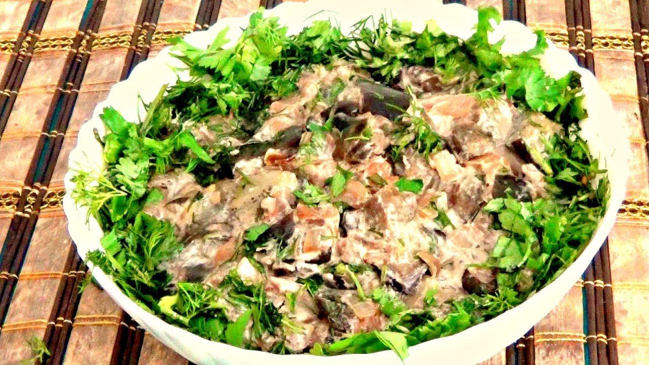 баклажаны как грибы рецепты быстро и вкусно со сметаной