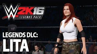 WWE 2K16 Legends DLC: Lita Entrance, Signatures & Finishers