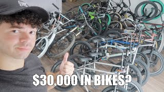 My Massive $30,000 Bike Collection!