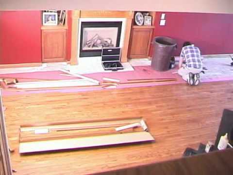 Installing Bruce Hardwood Flooring - Stop Motion Animation - YouTube