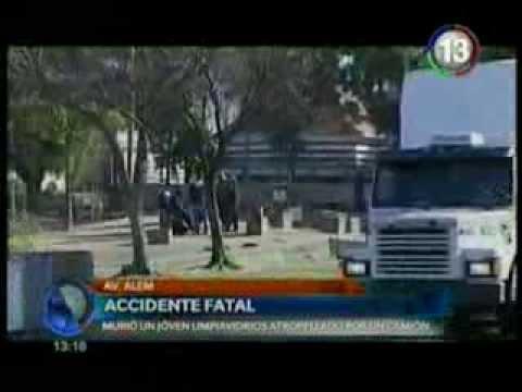José Corral habló tras el accidente fata en Alem donde murió un joven limpiavidrios