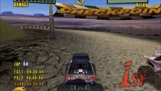 Monster Trux Extreme Offroad Editon PC Gameplay