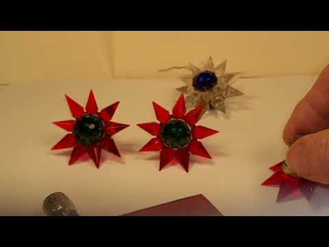 RELAMPING VINTAGE CHRISTMAS MATCHLESS STAR LIGHTS PART 1