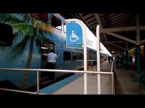 West Palm Beach Tri-Rail Station - 1/12/2014 - Part 1.