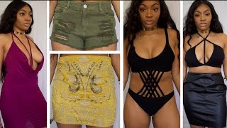 boohoo Slim Thick Spring Break Try On Haul