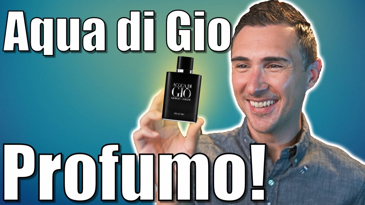Acqua di Gio Profumo Review!